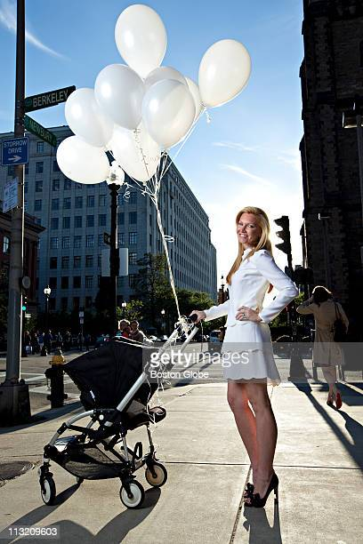 Ashley Bernon is photographed on Newbury St and Commonwealth Ave in Boston MA on Monday October 11 2010