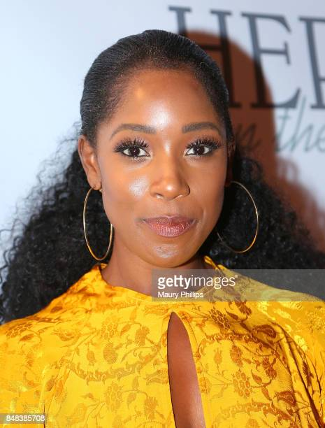Ashley Blaine Featherson arrives at the 16th Annual Heroes In The Struggle gala reception and awards presentation at 20th Century Fox on September 16...