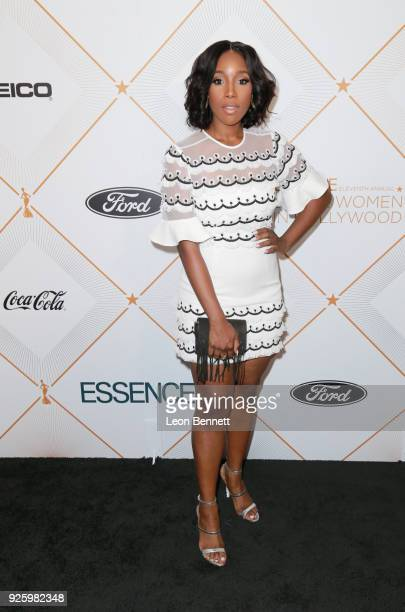 Ashley Blaine Featherson attends the 2018 Essence Black Women In Hollywood Oscars Luncheon at Regent Beverly Wilshire Hotel on March 1 2018 in...