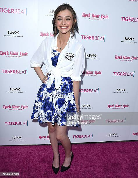 Ashley Boettcher arrives at the Tiger Beat's PreParty Around FOX's Teen Choice Awards at HYDE Sunset Kitchen Cocktails on July 28 2016 in West...