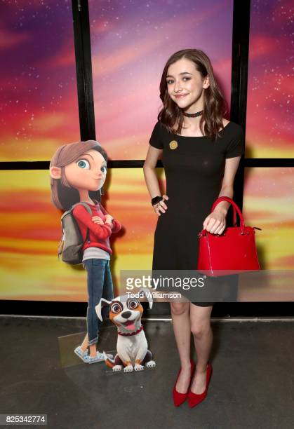 Ashley Boettcher attends Amazon Studios' premiere for Lost In Oz at NeueHouse Los Angeles on August 1 2017 in Hollywood California