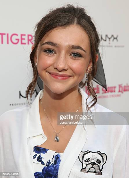 Ashley Boettcher attends TigerBeat's Official Teen Choice Awards PreParty Sponsored by NYX Professional Makeup and Rock Your Hair at HYDE Sunset...