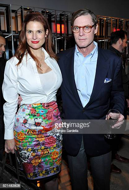 Ashley Bryan and Shelby Bryan attend The First Monday in May Los Angeles screening hosted by Bryan Lourd Wendi Murdoch Anna Wintour iTunes and...