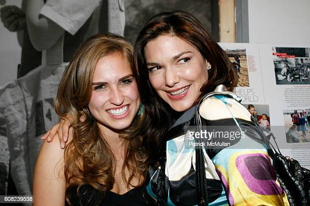 Ashley Bush and Laura Harring attend MARIE CLAIRE and LAUREN BUSH Host an Evening of Photography to Benefit The United Nations World Food Program...