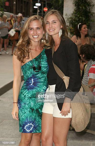 Ashley Bush and Lauren Bush attend a screening of 'The Twilight Saga Eclipse' hosted by The Cinema Society and Piaget at the Crosby Street Hotel on...