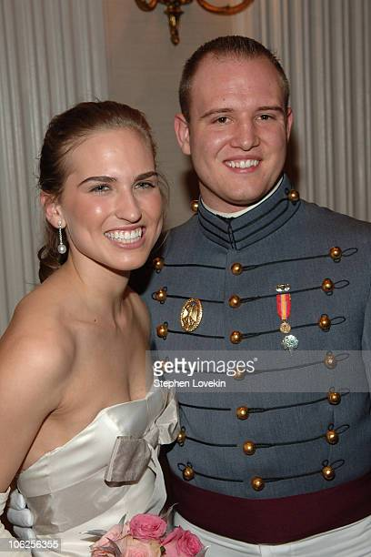 Ashley Bush and Michael Wolk during 52nd Annual International Debutante Ball Receiving Line at The Waldorf Astoria Hotel in New York City New York...
