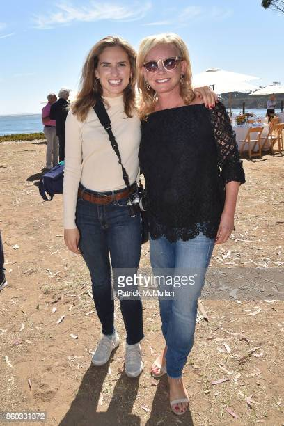 Ashley Bush and Sharon Bush attend Hearst Castle Preservation Foundation Annual Benefit Weekend 'Lunch at the Hearst Ranch Wine Warehouse' at Wine...