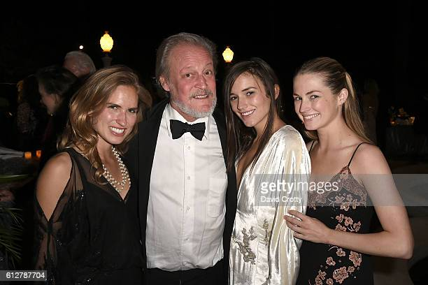 Ashley Bush Patrick McMullan Kit Tobin and Amanda Hearst attend Hearst Castle Preservation Foundation Annual Benefit Weekend 2016 Legends of the...