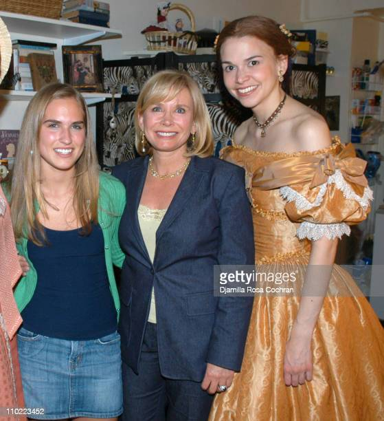 Ashley Bush Sharon Bush and Sutton Foster during Maureen McGovern Ashley Bush Sharon Bush and Sutton Foster at 'Little Women' at Virginia Theater in...