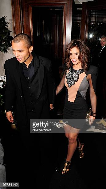 Ashley Cole and Cheryl Cole sighting on January 12 2010 in London England