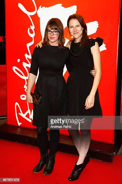 Ashley Connor and Josephine Decker attend 'Butter On The Latch' premiere during 64th Berlinale International Film Festival at Zoo Palast on February...
