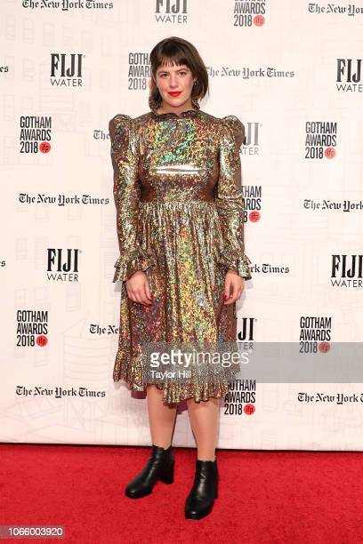 Ashley Connor attends the 2018 Gotham Awards at Cipriani Wall Street on November 26 2018 in New York City