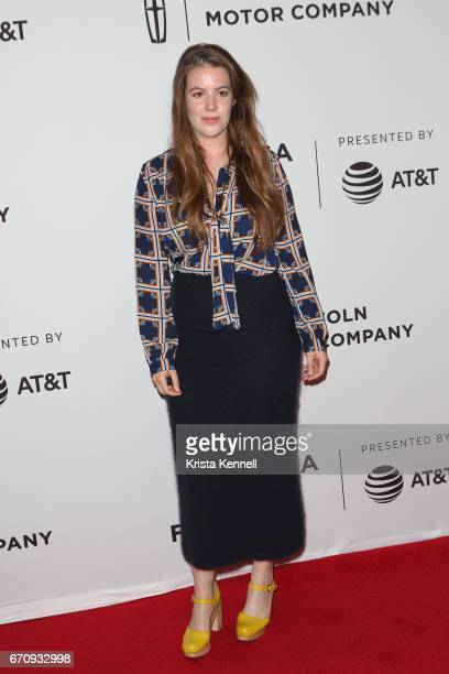 Ashley Connor attends the Flames Premiere during the 2017 Tribeca Film Festival at Cineopolis Chelsea on April 20 2017 in New York City