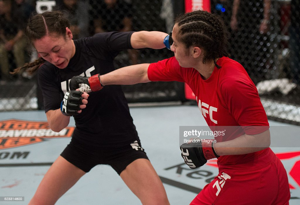 The Ultimate Fighter: Team Joanna vs Team Claudia : News Photo