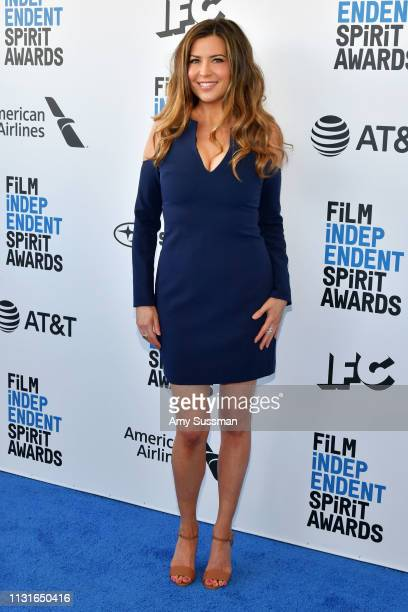 Ashley Cusato attends the 2019 Film Independent Spirit Awards on February 23 2019 in Santa Monica California