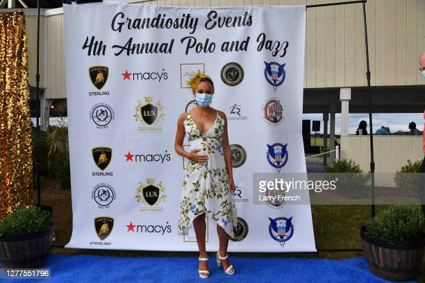 Ashley Darby of Housewives of Potomac is seen at Grandiosity Events 4th annual Polo & Jazz celebrity charity benefit hosted by Real Housewives of...