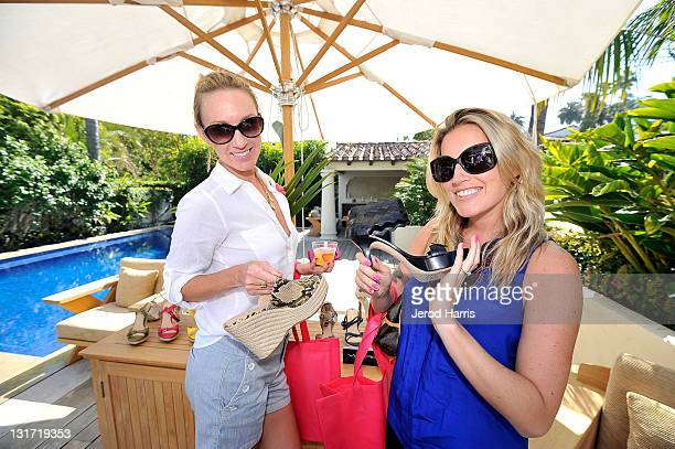 Ashley Dillahunty and Marisa Berger attend Alison Brod Public Relations Los Angeles Summer Style Event on June 15 2011 in Beverly Hills California