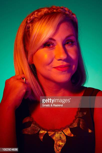 Ashley Eckstein from Disney XD's 'Star Wars Rebels' poses for a portrait at the Getty Images Portrait Studio powered by Pizza Hut at San Diego 2018...