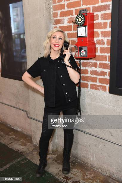 Ashley Eckstein of 'Her Universe' attends the Pizza Hut Lounge at 2019 ComicCon International San Diego on July 19 2019 in San Diego California