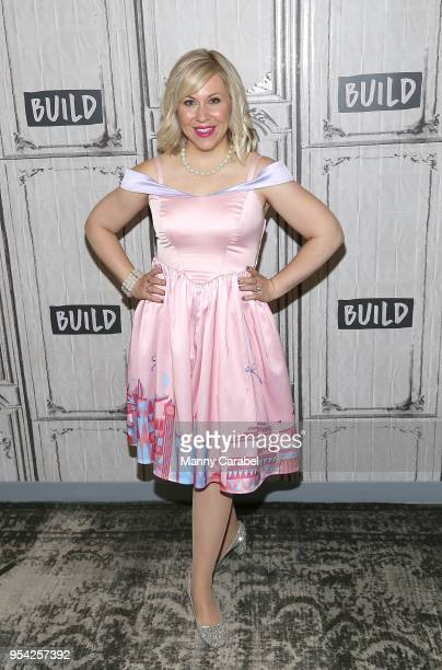 Ashley Eckstein visits Build Series at Build Studio on May 3 2018 in New York City