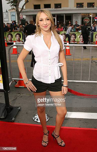 Ashley Edner during Knocked Up Los Angeles Premiere Arrivals at Mann Village Theater in Westwood California United States