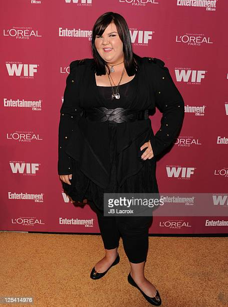 Ashley Fink attends the 2011 Entertainment Weekly And Women in Film PreEmmy Party at BOA Steakhouse on September 16 2011 in West Hollywood California
