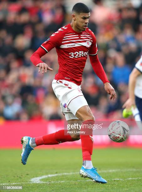 Ashley Fletcher of Middlesbrough during the FA Cup Third Round match between Middlesbrough and Tottenham Hotspur at Riverside Stadium on January 05,...