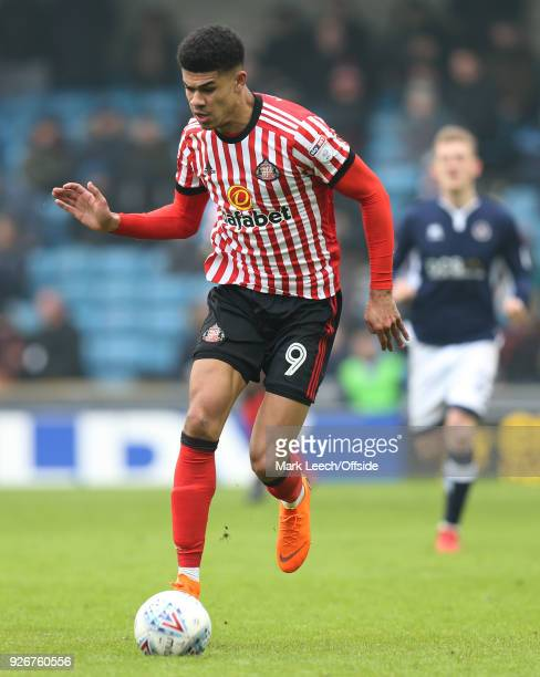 Ashley Fletcher of Sunderland during the Sky Bet Championship match between Millwall and Sunderland at The Den on March 3 2018 in London England
