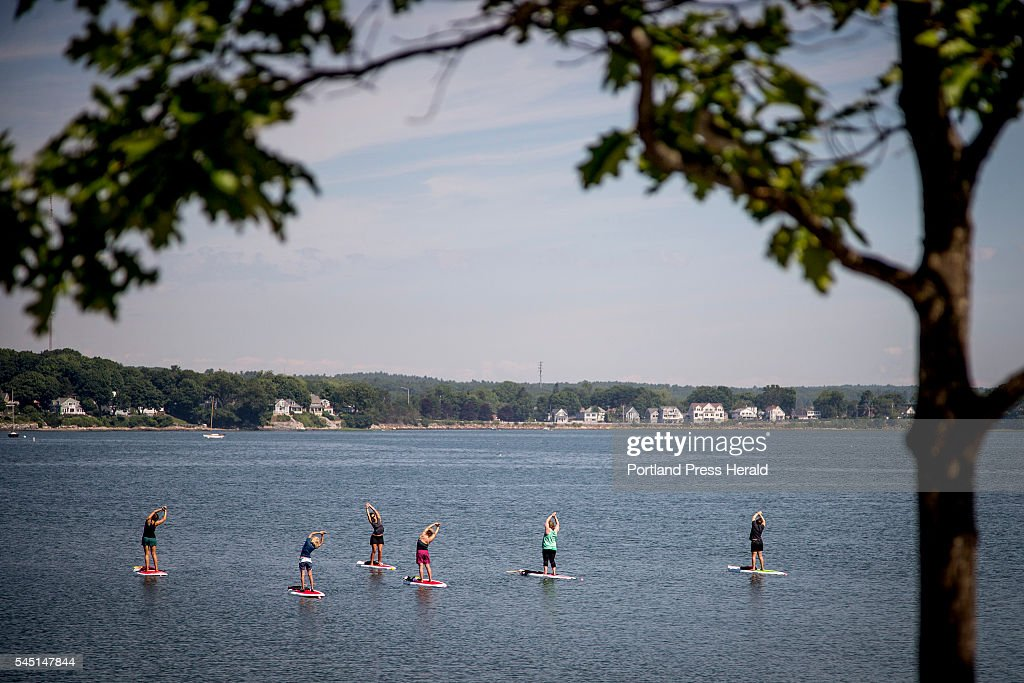 Paddle board feature : News Photo