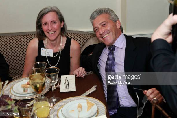 Ashley Garrett and Lenny Stern attend National Board of COMMUNITIES IN SCHOOLS Celebrate BILL MILLIKEN'S Birthday at the Residence of Simone and...