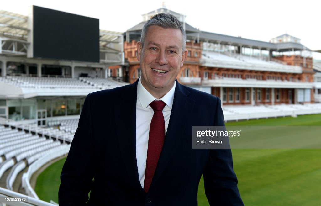 Managing Director of England Men's Cricket Ashley Giles Press Conference : News Photo