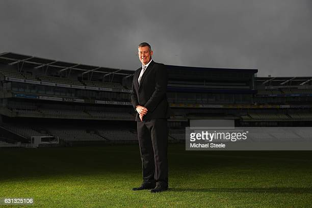 Ashley Giles the Sport Director of Warwickshire County Cricket Club poses at Edgbaston on January 9 2017 in Birmingham England