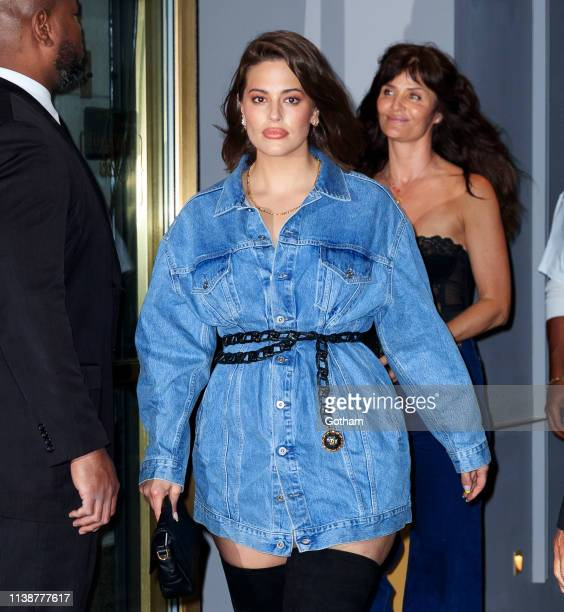 Ashley Graham at Gigi Hadid's birthday party at Chalet on April 22 2019 in New York City
