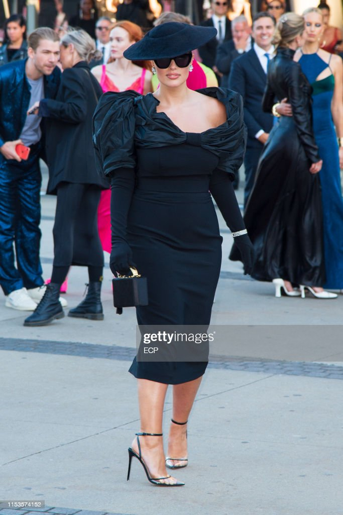 Ashley Graham At The 2019 Cfda Fashion Awards Held At The Brooklyn