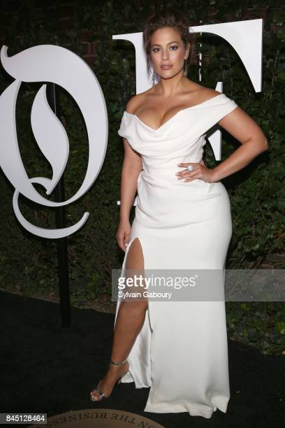 Ashley Graham attends 2017 BoF 500 Gala at Public Hotel on September 9 2017 in New York City