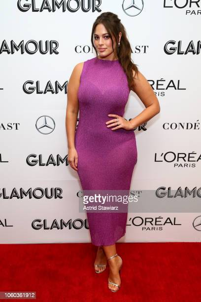 Ashley Graham attends 2018 Glamour Women Of The Year Summit Women Rise at Spring Studios on November 11 2018 in New York City