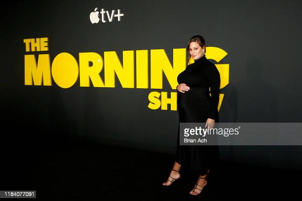 Ashley Graham attends Apple's global premiere of The Morning Show at Josie Robertson Plaza and David Geffen Hall Lincoln Center for the Performing...