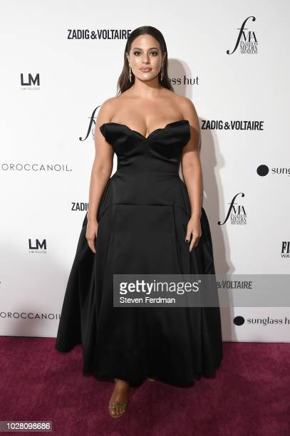 Ashley Graham attends Daily Front Row's Fashion Media Awards presented by ZadigVoltaire Sunglass Hut Moroccan Oil LIM Fiji on September 6 2018 in New...