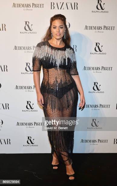 Ashley Graham attends Harper's Bazaar Women of the Year Awards in association with Ralph Russo Audemars Piguet and MercedesBenz at Claridge's Hotel...