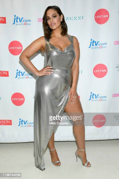 Ashley Graham attends Lifetime's American Beauty Star Season 2 Live Finale at Manhattan Center on March 27 2019 in New York City