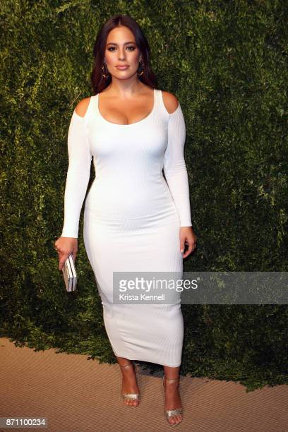 Ashley Graham attends the 14th Annual CFDA/Vogue Fashion Fund Awards on November 6 2017 in Brooklyn New York City