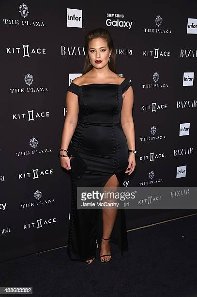 Ashley Graham attends the 2015 Harper's BAZAAR ICONS Event at The Plaza Hotel on September 16 2015 in New York City