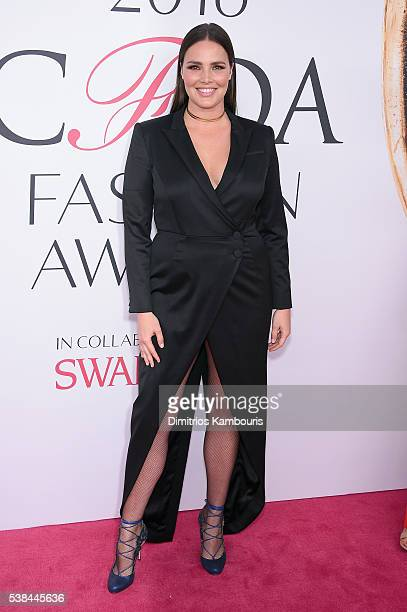 Ashley Graham attends the 2016 CFDA Fashion Awards at the Hammerstein Ballroom on June 6 2016 in New York City