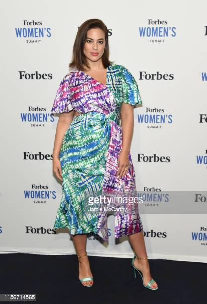 Ashley Graham attends the 2019 Forbes Women's Summit at Pier 60 on June 18 2019 in New York City