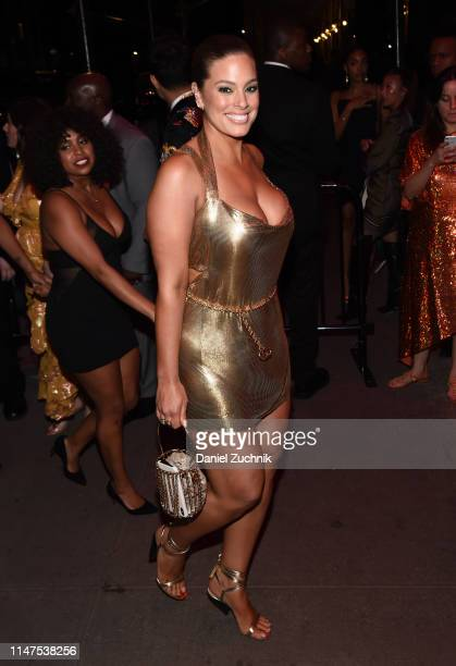 Ashley Graham attends the 2019 Met Gala Boom Boom Afterparty at The Standard hotel on May 06 2019 in New York City