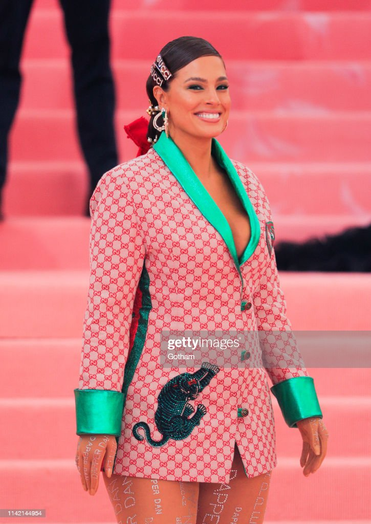 Ashley Graham Attends The 2019 Met Gala Celebrating Camp Notes On