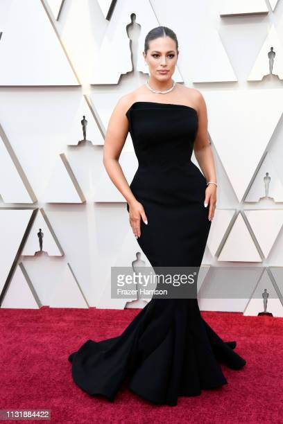 Ashley Graham attends the 91st Annual Academy Awards at Hollywood and Highland on February 24 2019 in Hollywood California