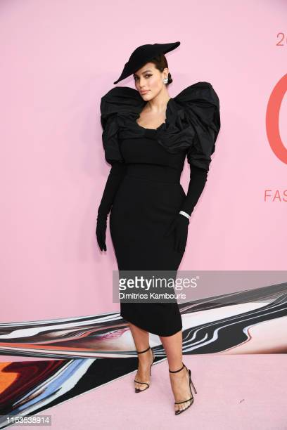 Ashley Graham attends the CFDA Fashion Awards at the Brooklyn Museum of Art on June 03, 2019 in New York City.