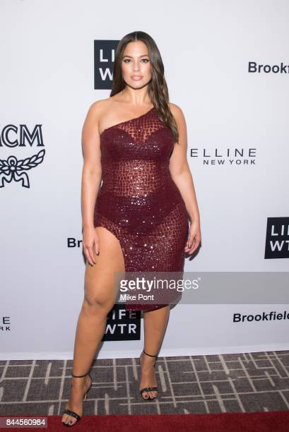 Ashley Graham attends the Daily Front Row's Fashion Media Awards at Four Seasons Hotel New York Downtown on September 8 2017 in New York City
