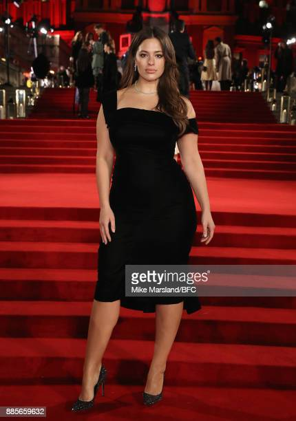 Ashley Graham attends The Fashion Awards 2017 in partnership with Swarovski at Royal Albert Hall on December 4 2017 in London England